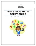 4th Grade Math Study Guide for Virginia's SOL Test