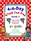 4th Grade Math TEKS: 4 A Day STAAR Prep Week 3 (TX Tornado Spiral Review Sup)