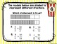 4th Grade Math TEKS:4 A Day STAAR Spiral Review Task Cards Week 1- Digital/Paper