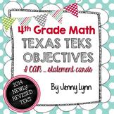 4th Grade Math TEKS Objectives- Newly Revised TEKS-I can..