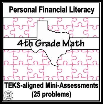 4th Grade Math TEKS Personal Financial Literacy