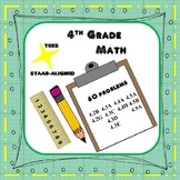 4th Grade Math TEKS/STAAR-aligned Problem-solving