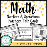 Fractions Task Card Bundle (7 Sets)