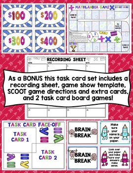4th Grade Math Task Cards: 4.NBT.B.4 Addition and Subtraction