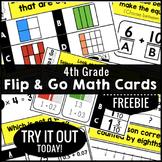 Math Task Cards 4th Grade FREE