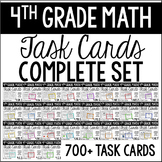 4th Grade Math Task Cards