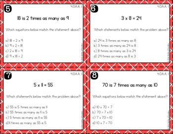 4th Grade Math Task Cards - (Growing Bundle)