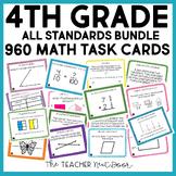 4th Grade Math Task Cards Mega Bundle | 4th Grade Math Cen