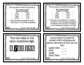 4th Grade   Place Value Relationships 4.NBT.1