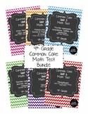 4th Grade Math Test Bundle: ALL Common Core Standards-6 Un