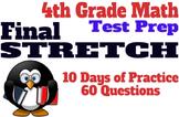 4th Grade Math Test Prep: 10 Days of Review for TEKS, FSA, AzMerit, Etc.