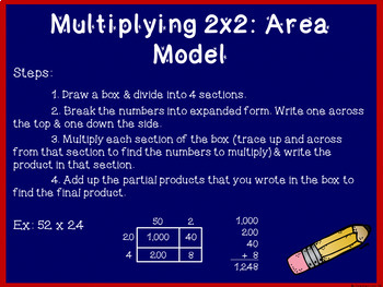 4th Grade Math Test Prep BUNDLE! ~ Place Value & Multi-Digit Operations ~ CCSS