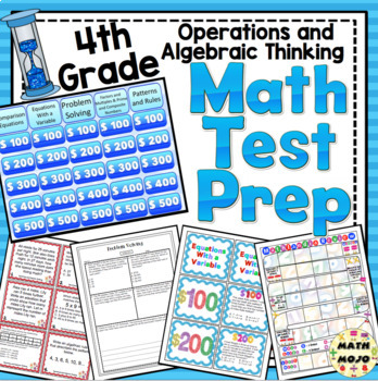 4th Grade Math Test Prep: Countdown! Operations and Algebraic Thinking