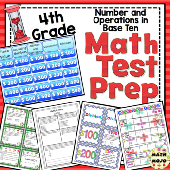 4th Grade Math Test Prep: Countdown! Number and Operations in Base Ten