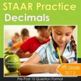 4th Grade Math STAAR TEST PREP (Decimals) TEKS 4.2G 4.4A 4.2E 4.2F 4.2H