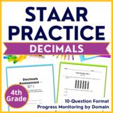 4th Grade Math STAAR TEST PREP (Decimals) TEKS 4.2G 4.4A 4.2E 4.2F 4.2H
