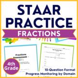 4th Grade Math STAAR Test Prep (Fractions) TEKS 4.3A 4.3B 4.3C 4.3D 4.3E 4.3F