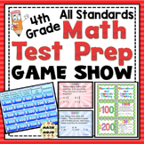 4th Grade Math Test Prep Game Show: All Standards Review
