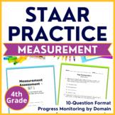 4th Grade Math STAAR Test Practice Measurement TEKS 4.5D 4.8A 4.8B 4.8C