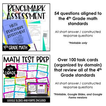 4th Grade Math Test Prep Mega Bundle
