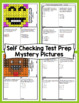 4th Grade Math Test Prep Mystery Pictures - Operations and Algebraic Thinking