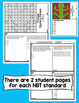 4th Grade Math Test Prep Mystery Pictures - Number and Operations in Base Ten