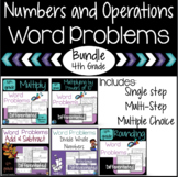 Place Value and Operations Word Problem Worksheets 4th Gra