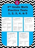 4th Grade Math Test Prep Practice Tests
