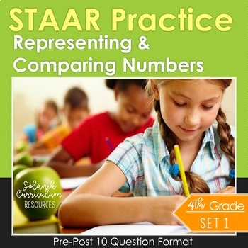 4th Grade Math Test Prep (Representing & Comparing Numbers) TEKS 4.2ABCDE, 4.4G