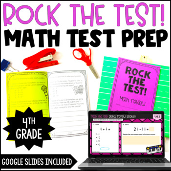 This is a graphic of Eloquent 4th Grade Math Assessment Test Printable
