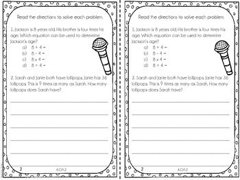 It is a photo of Decisive 4th Grade Math Assessment Test Printable