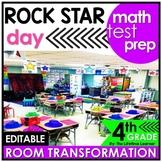 4th Grade Math Review  - Rock Star Classroom Transformation