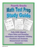 4th Grade Math Test Prep Study Guide