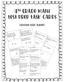 4th Grade Math Test Prep Task Cards