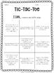 4th Grade Math Tic-Tac-Toe Activity Bundle