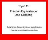 4th Grade Math: Topic 11 Guided Practice (Pearson enVISION