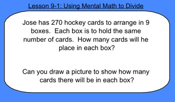 4th Grade Math: Topic 9 Guided Practice (Pearson enVISION Common Core)