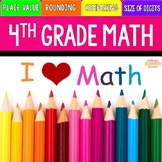 4th Grade Place Value and Rounding Unit | Distance Learning