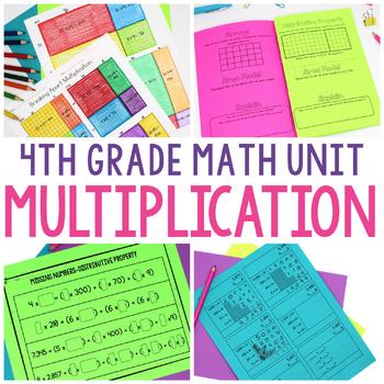 4th Grade Math Unit 3 - Multiplication