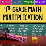 4th Grade Math Unit 3 - Multiplication