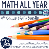 4th Grade Math Unit Bundle
