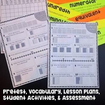 4th Grade Math Unit with Lesson Plans Bundle