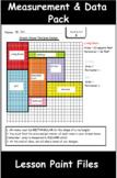 4th Grade Math Visual Lesson Plans: Measurement & Data Pack