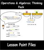 4th Grade Math Visual Lesson Plans: Operations and Algebra