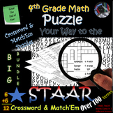4th Grade Math Vocab STAAR Review~CW & Match'EM BUNDLE~Over 100 Terms~NO PREP