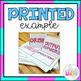 4th Grade Math Vocabulary: Flip Card Word Wall (183 WORDS!)