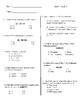 4th Grade Math Vocabulary Module 1