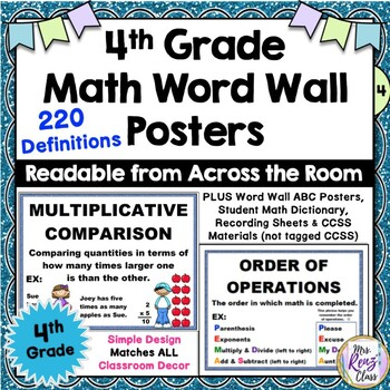 4th grade vocabulary words pdf