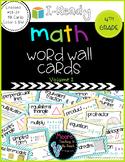 I-Ready Math Vocabulary Word Wall 4th Grade, Volume 2