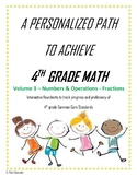 4th Grade Math Vol 3 - NF - Blended Learning - Personalize